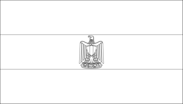 egypt flag coloring coloring page flag egypt free printable coloring pages flag egypt coloring