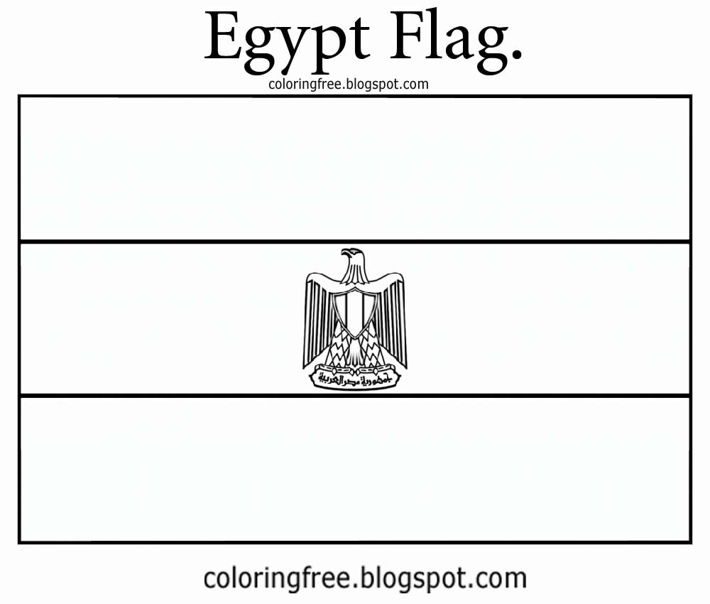 egypt flag coloring egypt flag coloring page coloring home coloring egypt flag