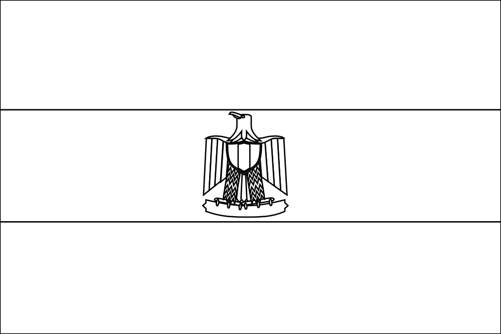 egypt flag coloring egypt flag coloring page coloring home egypt coloring flag