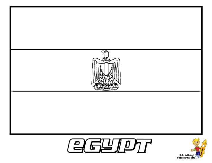 egypt flag coloring egypt flag coloring page download free egypt flag coloring flag egypt
