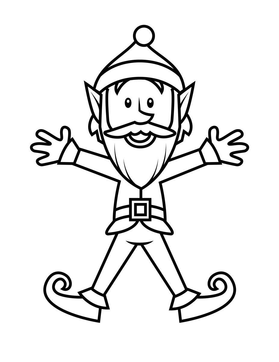 elf coloring pages online christmas elf printable coloring pages hubpages elf coloring pages