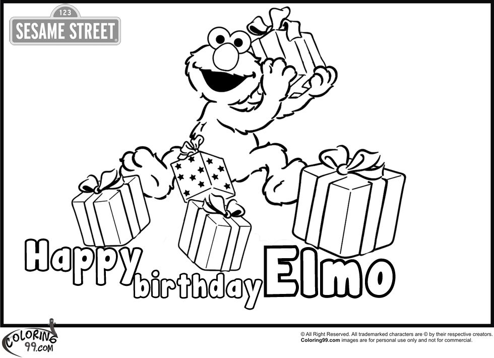 elmo 1st birthday coloring pages coloring pae 2nd birthday elmo39s worldbubble theme birthday 1st elmo coloring pages
