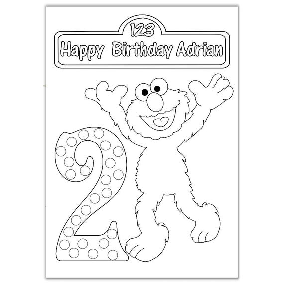 elmo 1st birthday coloring pages elmo coloring pages printable free digital stamps 1st elmo pages coloring birthday