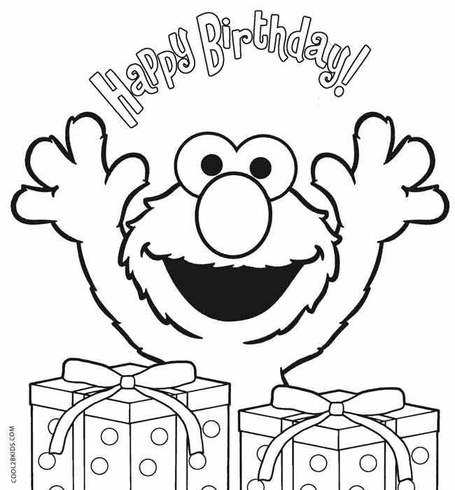 elmo 1st birthday coloring pages happy birthday coloring pages free printable download for birthday coloring 1st elmo pages