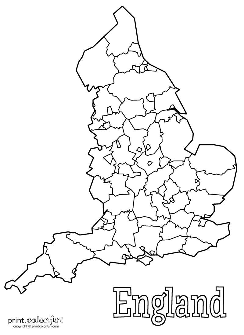 england map coloring page map of england free coloring pages page coloring map england