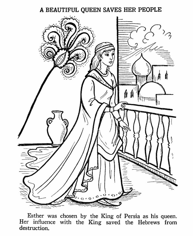 esther coloring pages esther become king ahasuerus queen coloring page bible coloring esther pages
