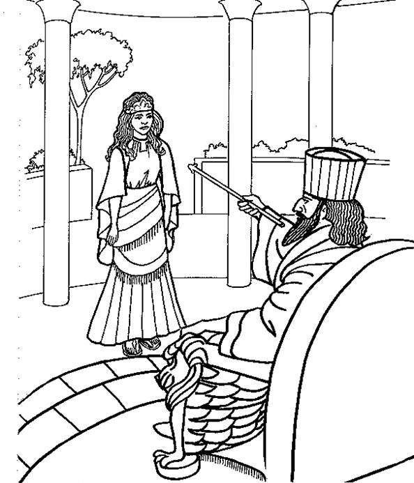 esther coloring pages the best free esther coloring page images download from pages coloring esther