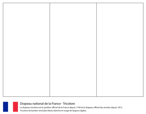 european flags printable flag of france coloring page from france category select european flags printable