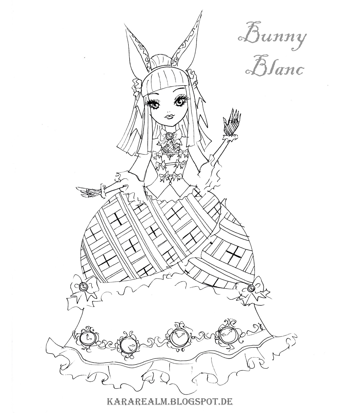 ever after high coloring pages ever after high coloring pages bunny sketch coloring page high pages after ever coloring