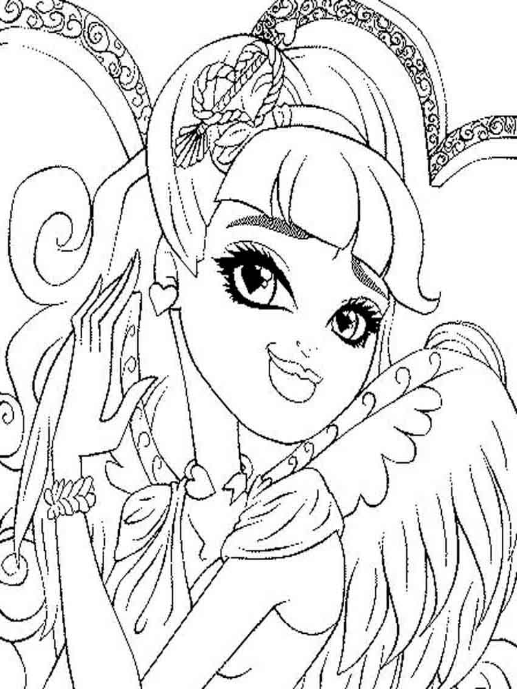 ever after high coloring pages ever after high coloring pages download and print ever high ever pages after coloring