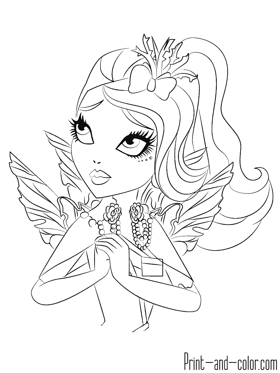 ever after high coloring pages ever after high coloring pages print and colorcom ever after coloring high pages