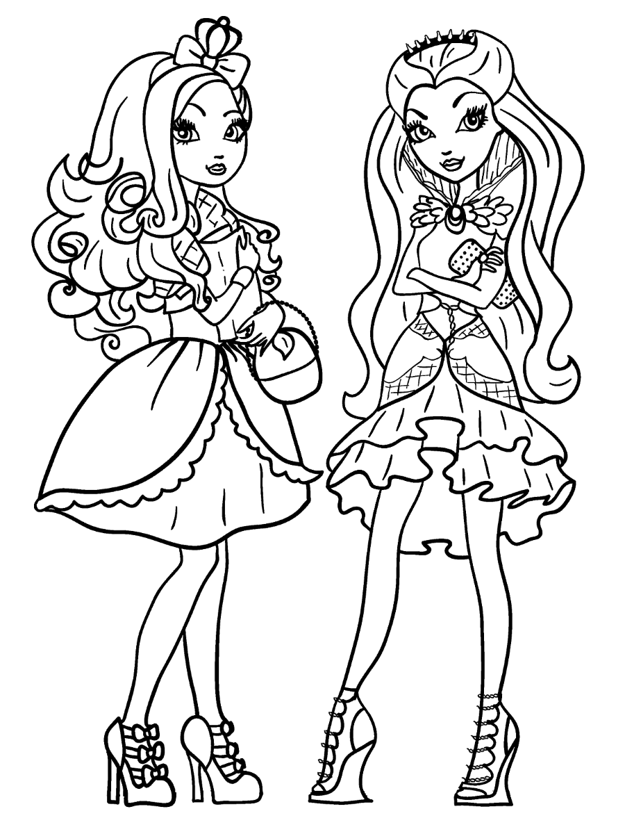 ever after high coloring pages ever after high coloring pages print and colorcom pages after high ever coloring
