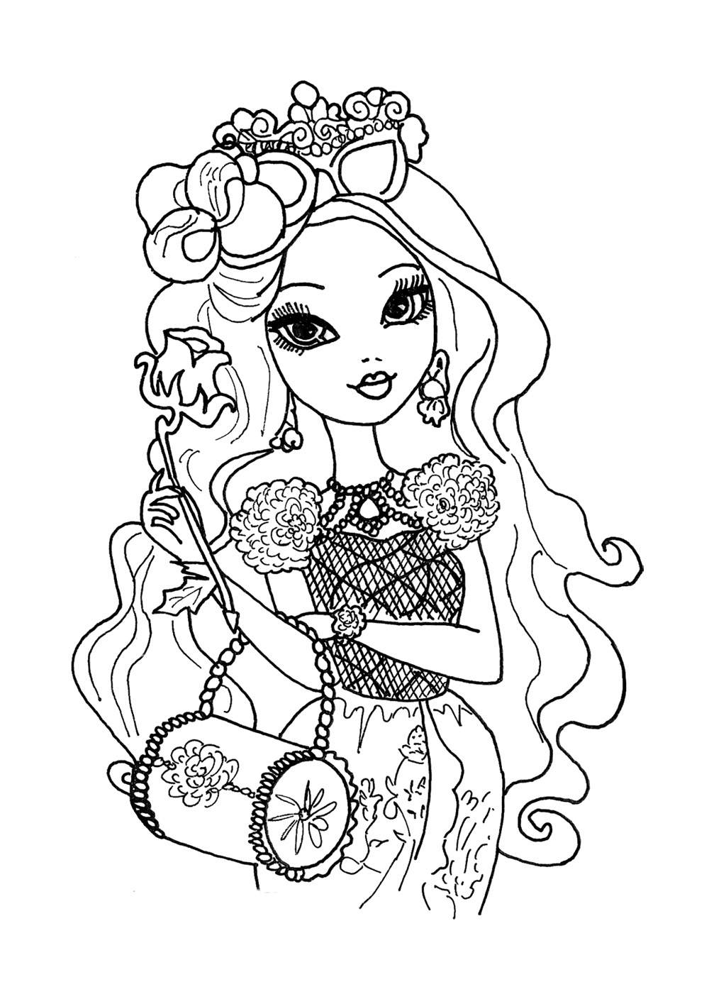 ever after high coloring pages ever after high coloring pages to download and print for free pages ever coloring high after
