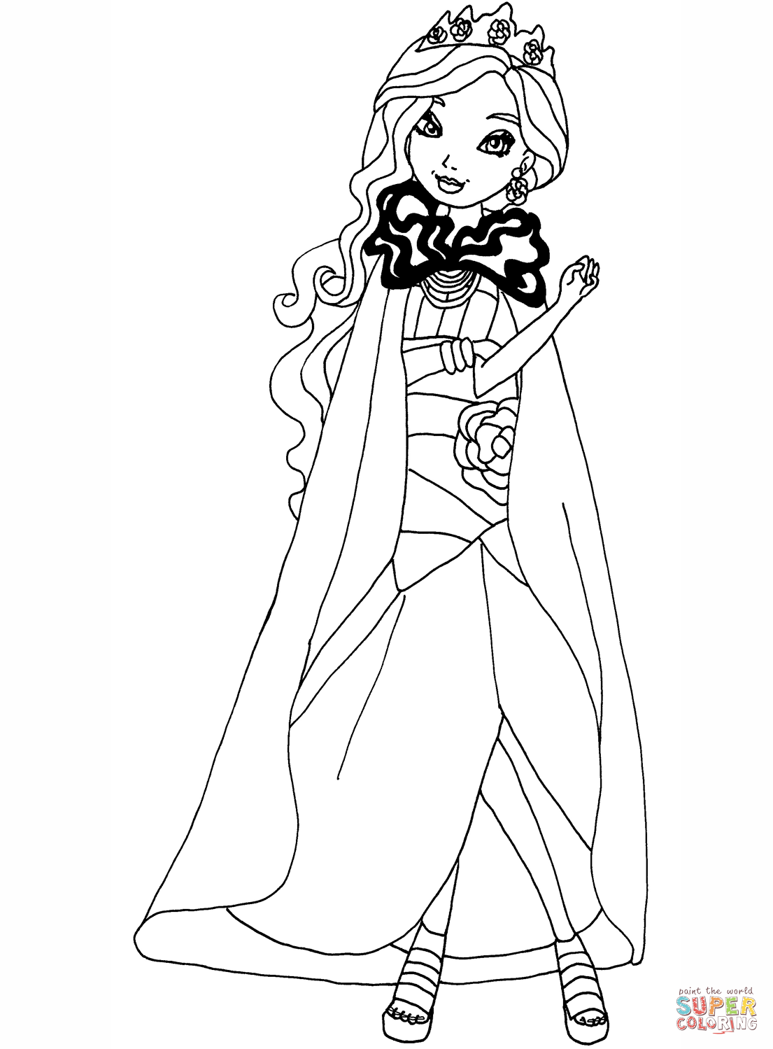 ever after high coloring pages get inspired for mermaid ever after high coloring pages pages ever coloring high after