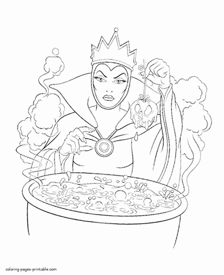 evil queen coloring pages coloring pages cartoon snow white 154 evil queen pages evil queen coloring