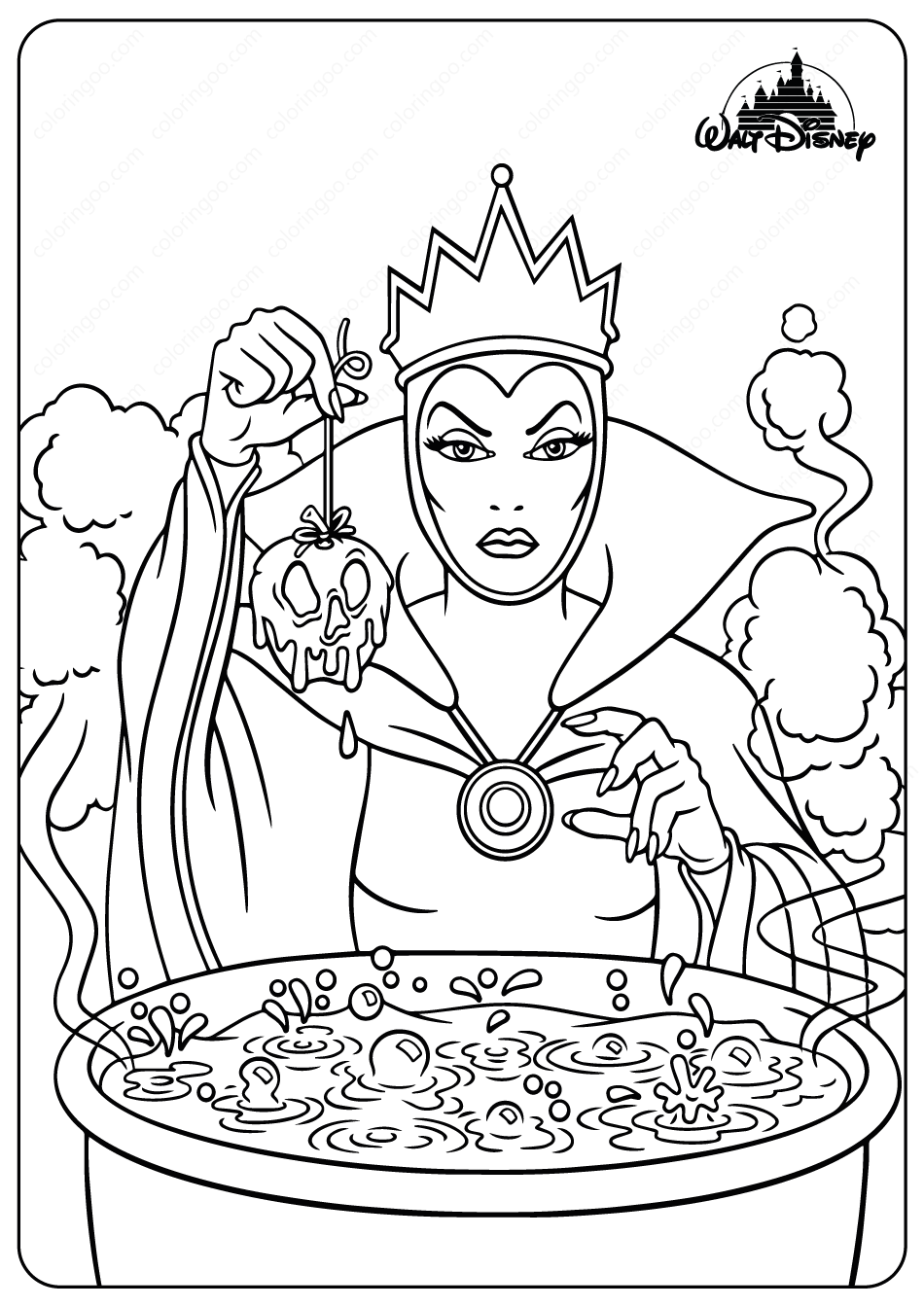 evil queen coloring pages free printable evil queen coloring picture assignment pages queen coloring evil
