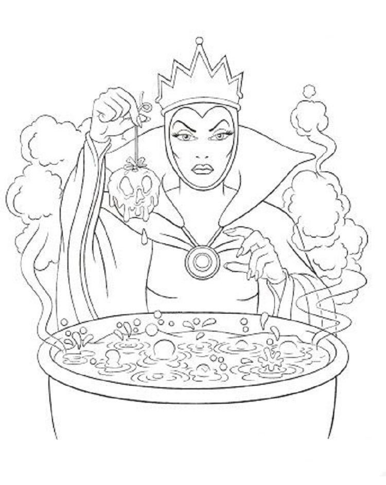 evil queen coloring pages printable disney the evil queen coloring pages pages evil coloring queen