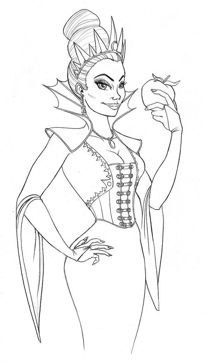 evil queen coloring pages snow white evil queen coloring pages disney coloring evil coloring pages queen