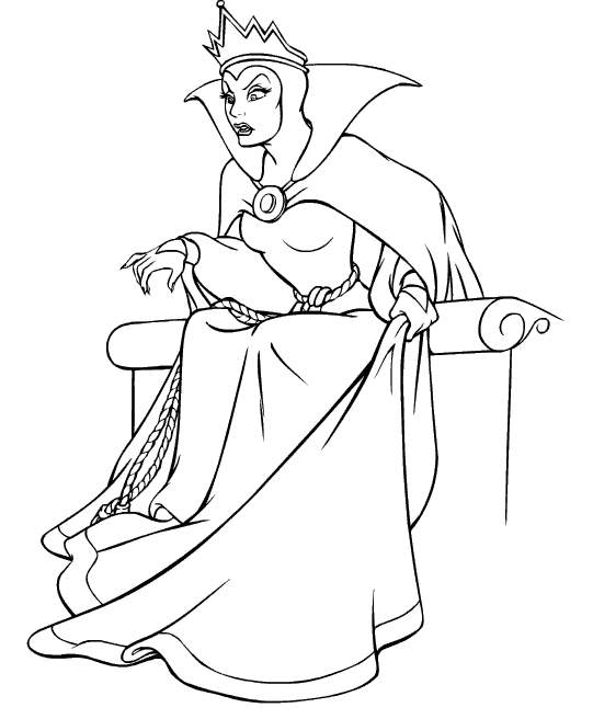 evil queen coloring pages the evil queen coloring pages coloring pages printablecom pages coloring evil queen