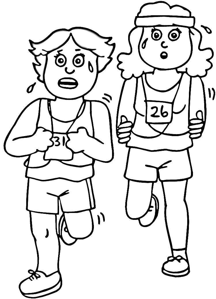 exercise coloring pages exercise coloring pages for preschoolers at getcolorings pages exercise coloring