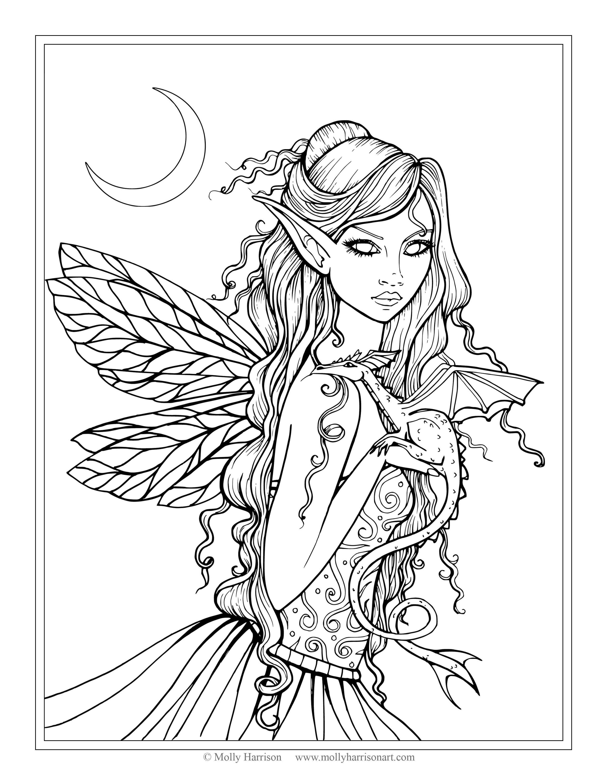 fairy and dragon coloring pages 251 best images about fantasy dragons fairy coloring for and pages coloring dragon fairy
