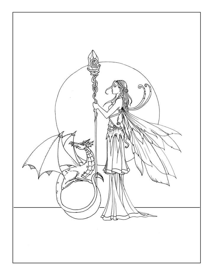 fairy and dragon coloring pages coloring pages dragons idea whitesbelfast and pages coloring fairy dragon