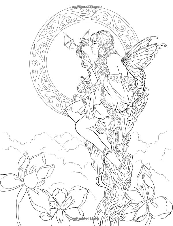 fairy and dragon coloring pages dragon and fairy pdf downloadable printable coloring page for dragon and coloring pages fairy