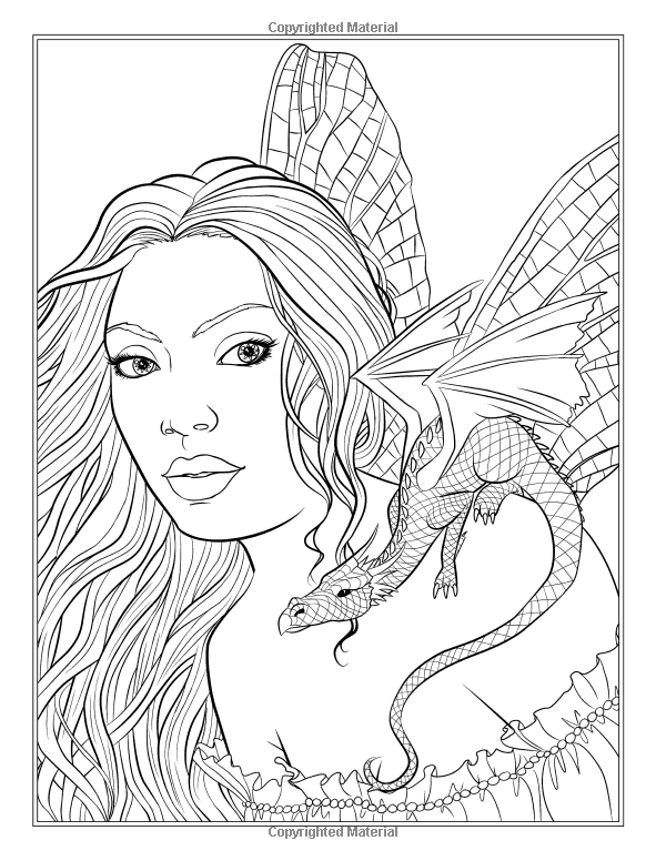 fairy and dragon coloring pages dragon queen and a red tail fairy dragon wip by pages dragon fairy coloring and