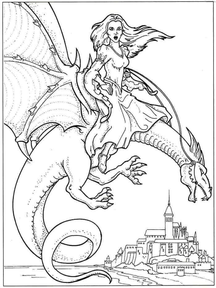 fairy and dragon coloring pages fairies and dragons coloring pages coloring pages and dragon fairy pages coloring