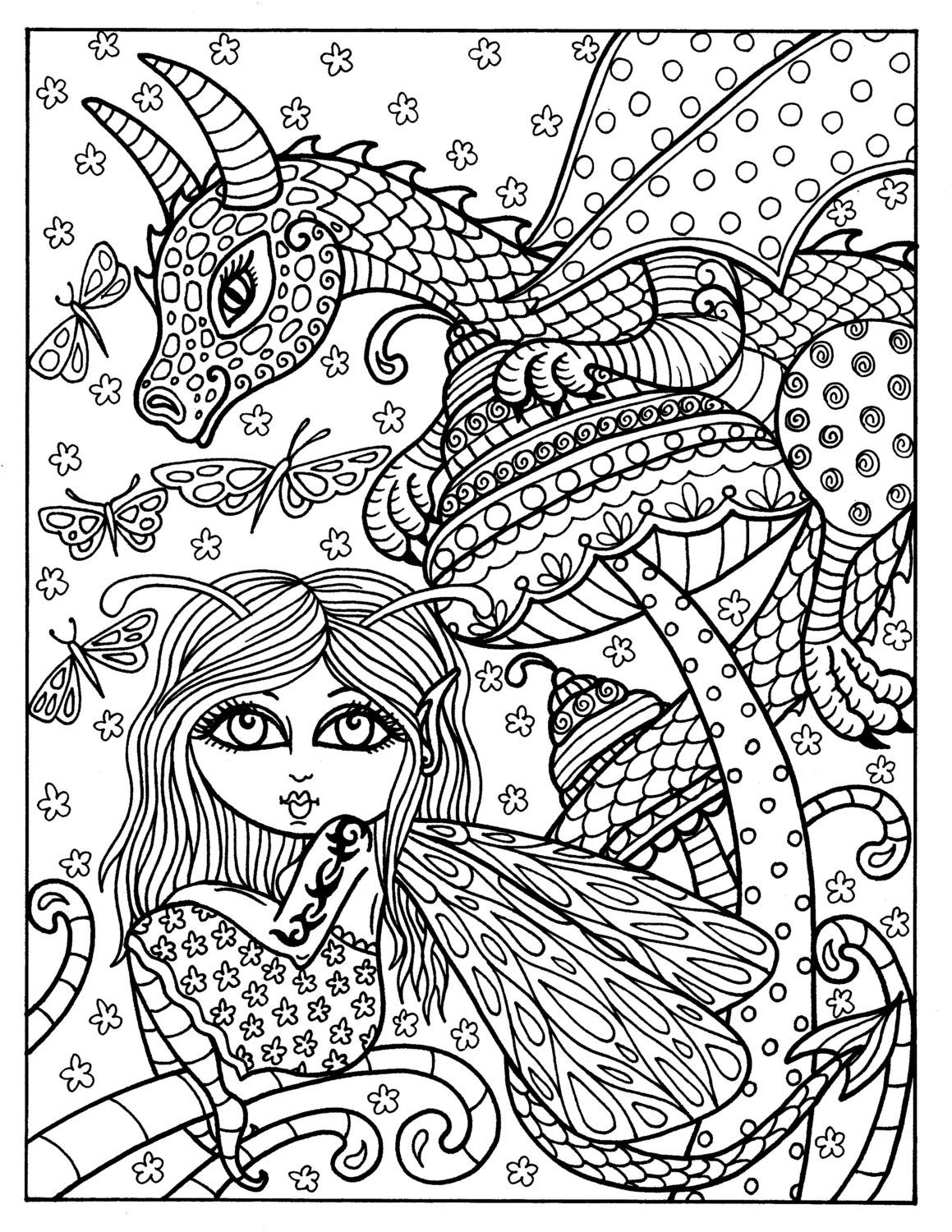 fairy and dragon coloring pages photos bild galeria fairy and dragon coloring pages and coloring pages fairy dragon