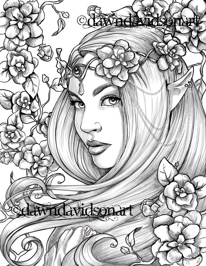 fairy grayscale coloring pages adult coloring page grayscale coloring page printable coloring coloring pages fairy grayscale