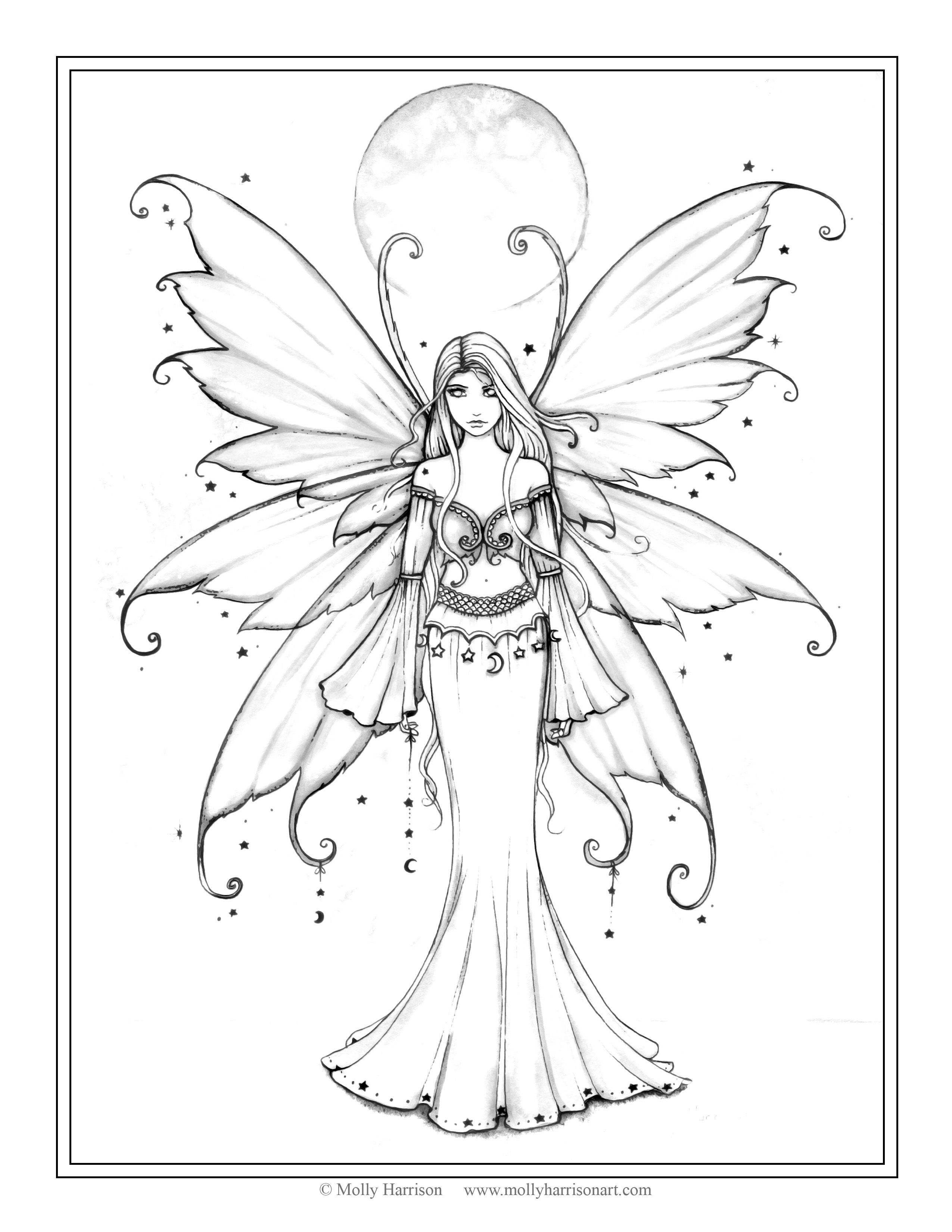 fairy grayscale coloring pages adult coloring page grayscale coloring page printable coloring grayscale coloring pages fairy