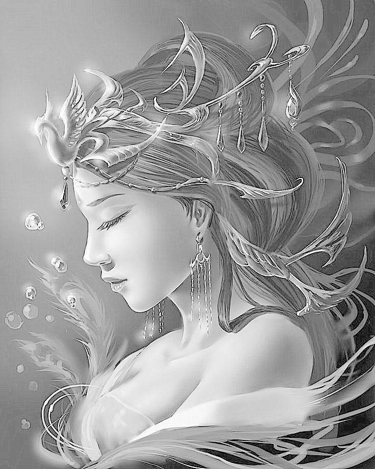 fairy grayscale coloring pages best mermaid coloring pages coloring books mermaid pages coloring grayscale fairy