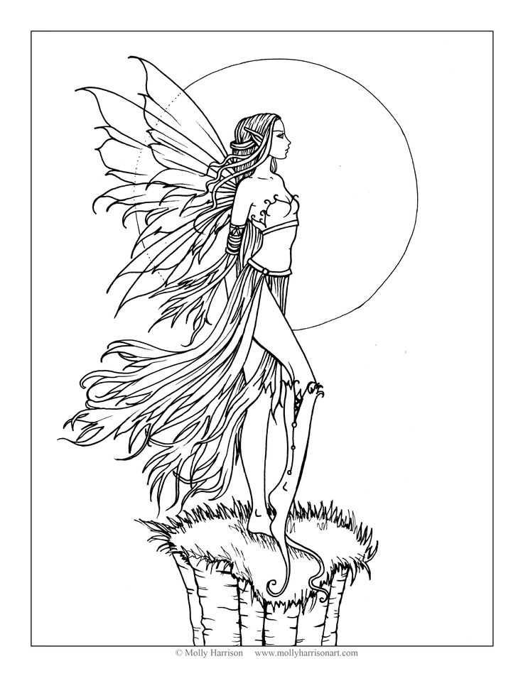 fairy grayscale coloring pages coloring for adults kleuren voor volwassenen grayscale coloring grayscale fairy pages