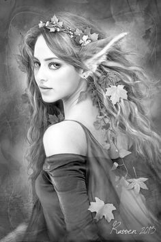 fairy grayscale coloring pages coloring for adults kleuren voor volwassenen grayscale fairy grayscale coloring pages