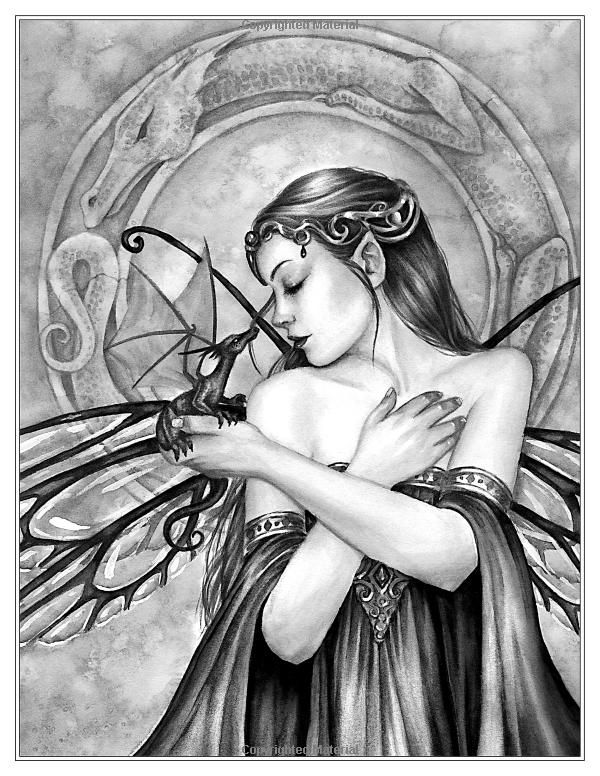 fairy grayscale coloring pages free grayscale coloring pages at getcoloringscom free coloring pages grayscale fairy