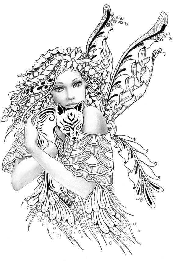 fairy grayscale coloring pages pin by cookie white on color pages in 2019 fairy fairy pages grayscale coloring