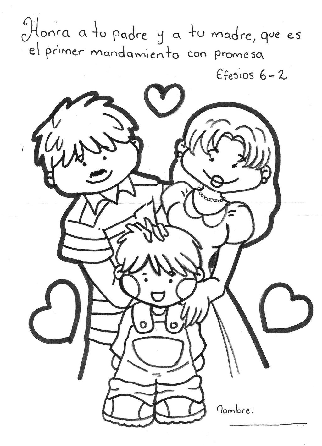 family coloring pages family prayer family pages coloring