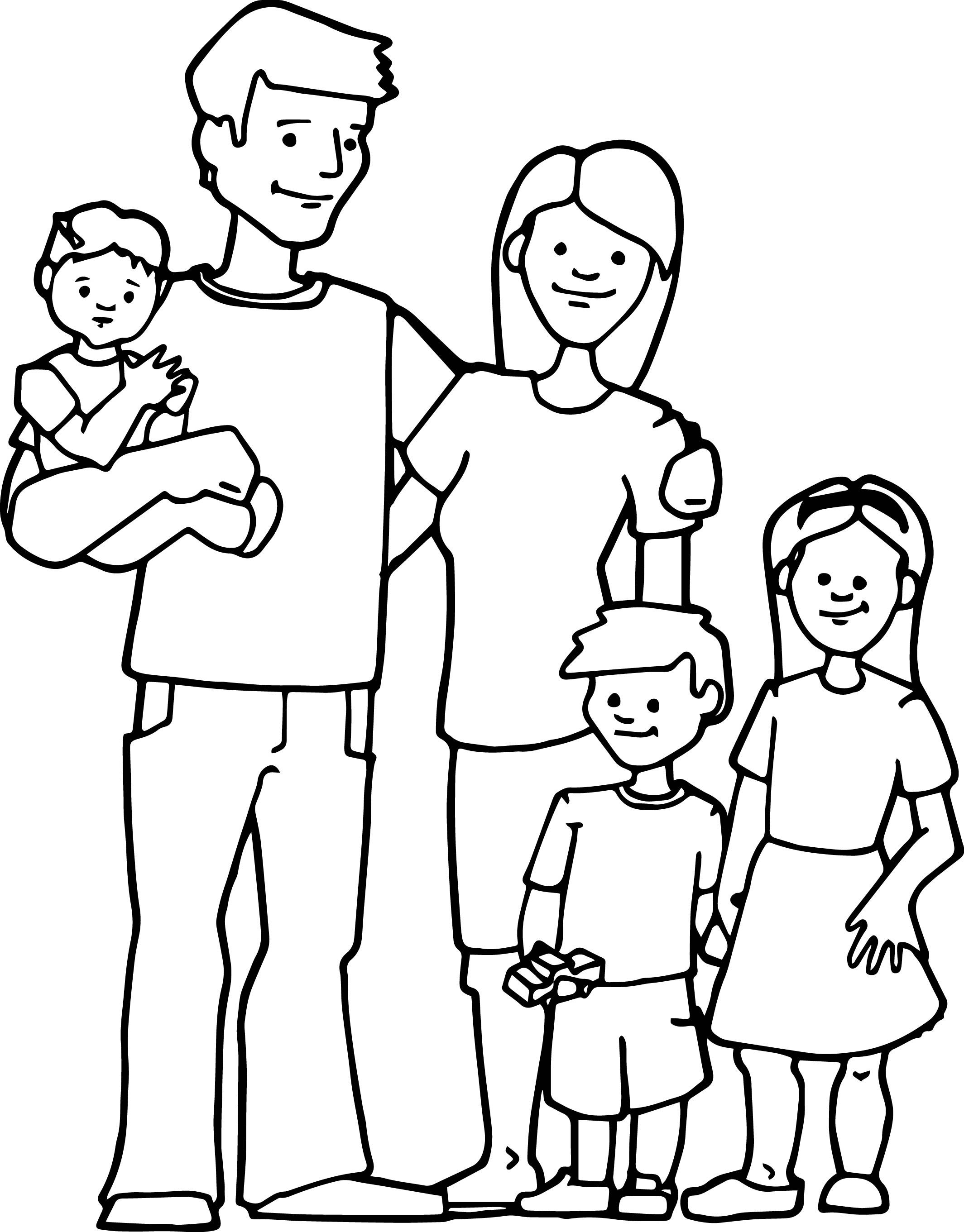 family coloring pages printable coloring page of a family coloring home family pages coloring printable