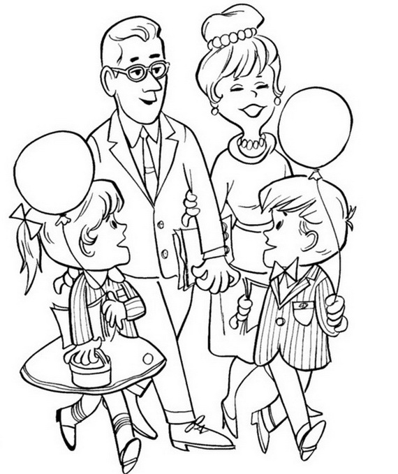 family coloring pages printable coloring smart printable coloring pages for your kids family printable coloring pages