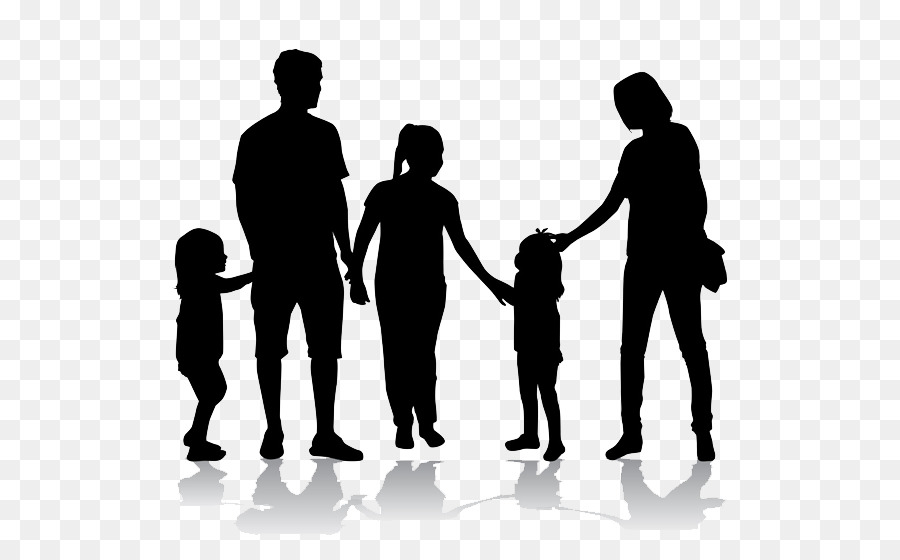 family of 5 silhouette family silhouettes svg dxf png by twelvepapers silhouette 5 family of