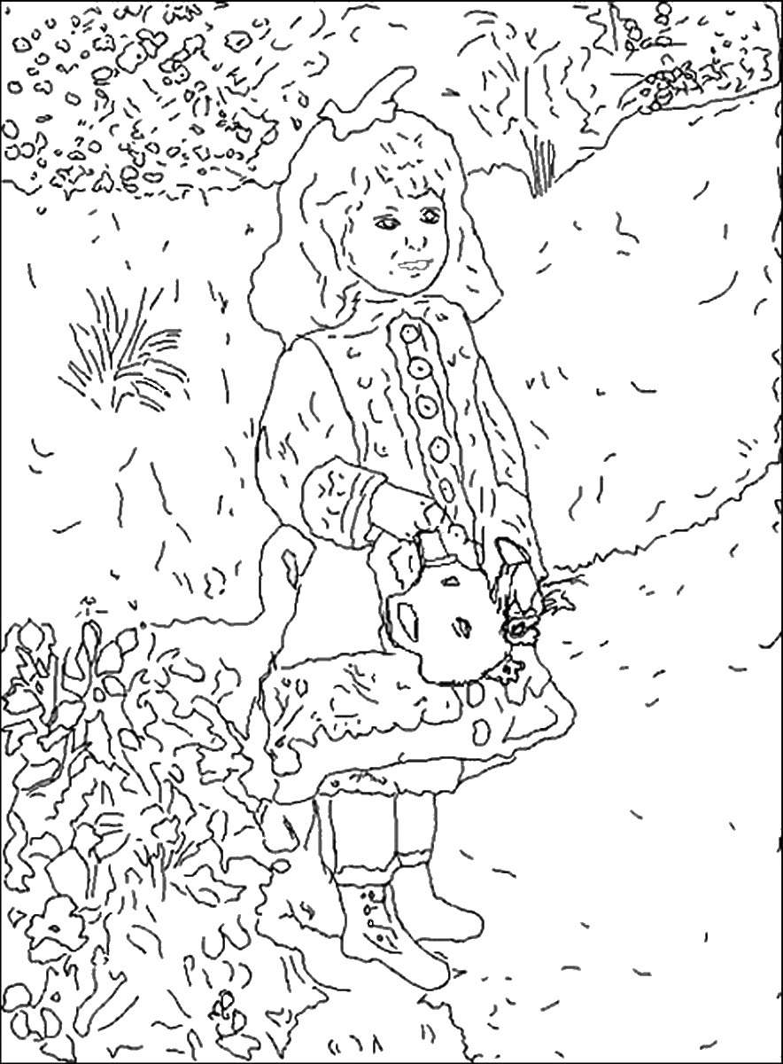 famous painting coloring pages famous painters and paintings coloring pages pages famous coloring painting