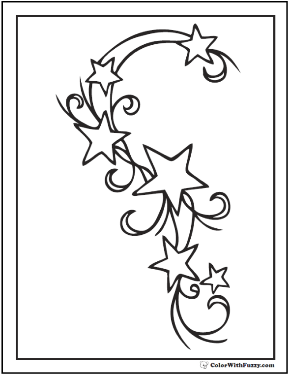 fancy star coloring pages 60 star coloring pages customize and print ad free pdf coloring star pages fancy