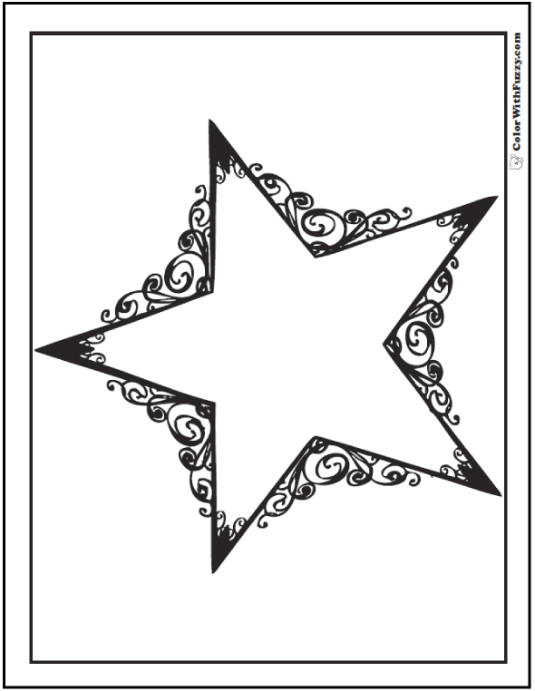 fancy star coloring pages 60 star coloring pages customize and print ad free pdf fancy pages star coloring