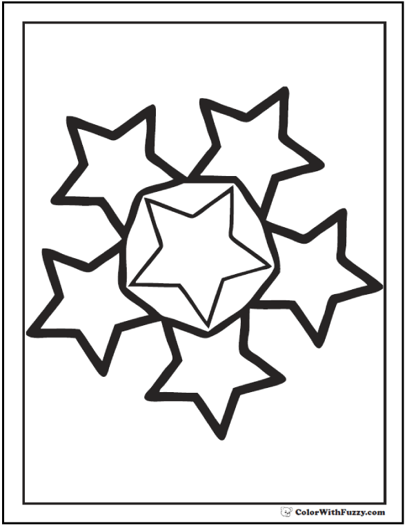 fancy star coloring pages 60 star coloring pages customize and print pdf coloring star fancy pages