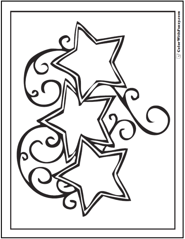fancy star coloring pages 60 star coloring pages customize and print pdf fancy coloring star pages