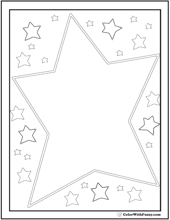 fancy star coloring pages 60 star coloring pages customize and print pdf pages coloring fancy star