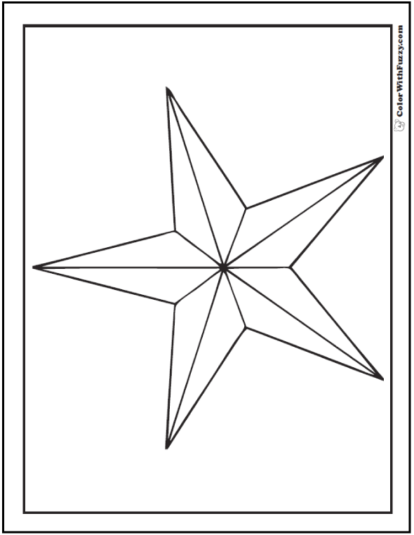 fancy star coloring pages fancy star outline clipart clipground fancy coloring pages star