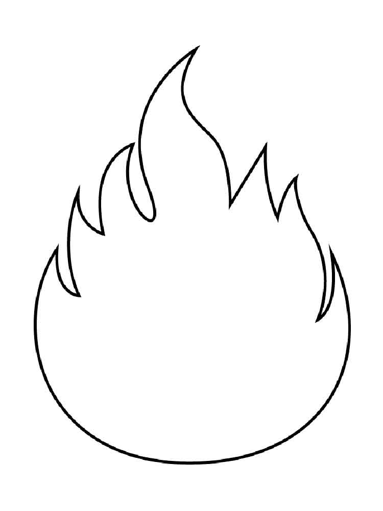 fire coloring page campfire clipart coloring page fire coloring page