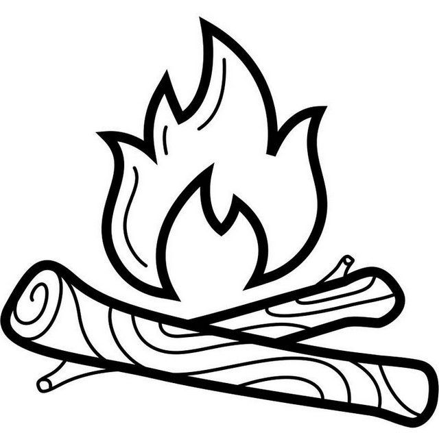 fire coloring page campfire coloring page tim39s printables coloring fire page